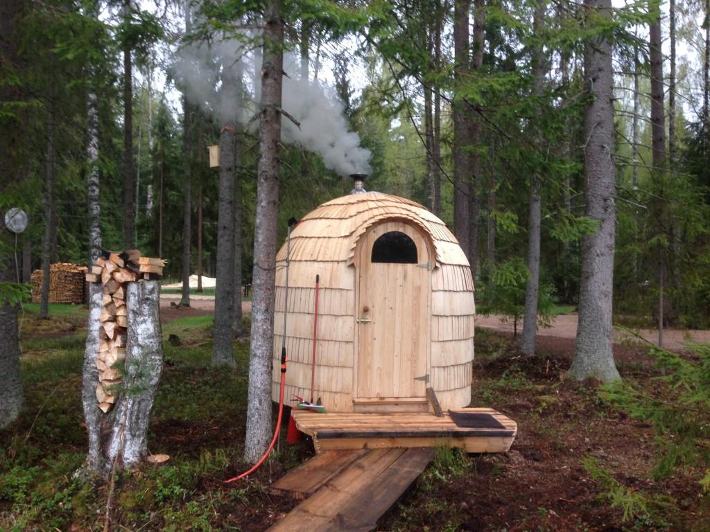 taevaskoja salamaa camping saun