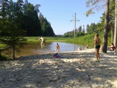 Fluss 500m
