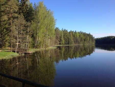 Искусственное озеро Саэсааре