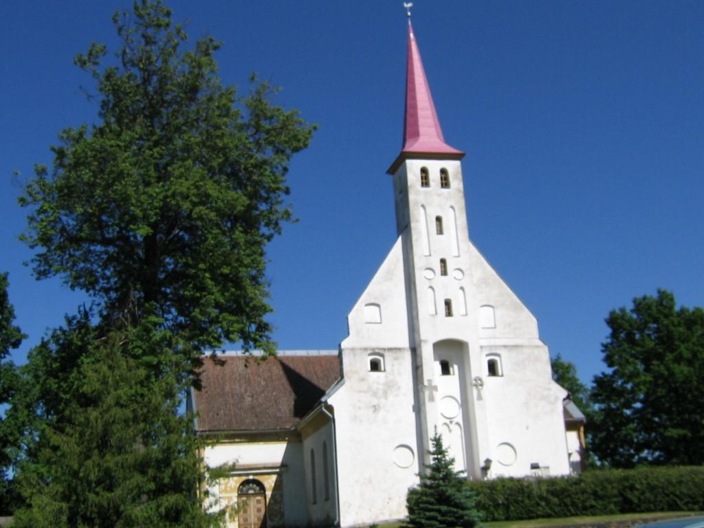 taevaskoja salamaa camping põlva kirik
